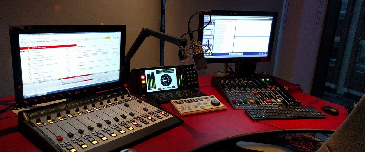 Huddersfield Soca Radio Studio