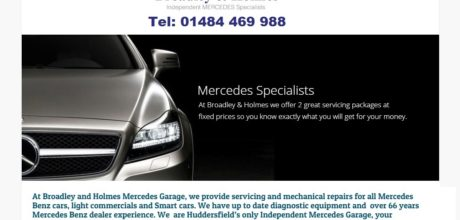 Broadley & Holmes Independent Mercedes Specialists Huddersfield