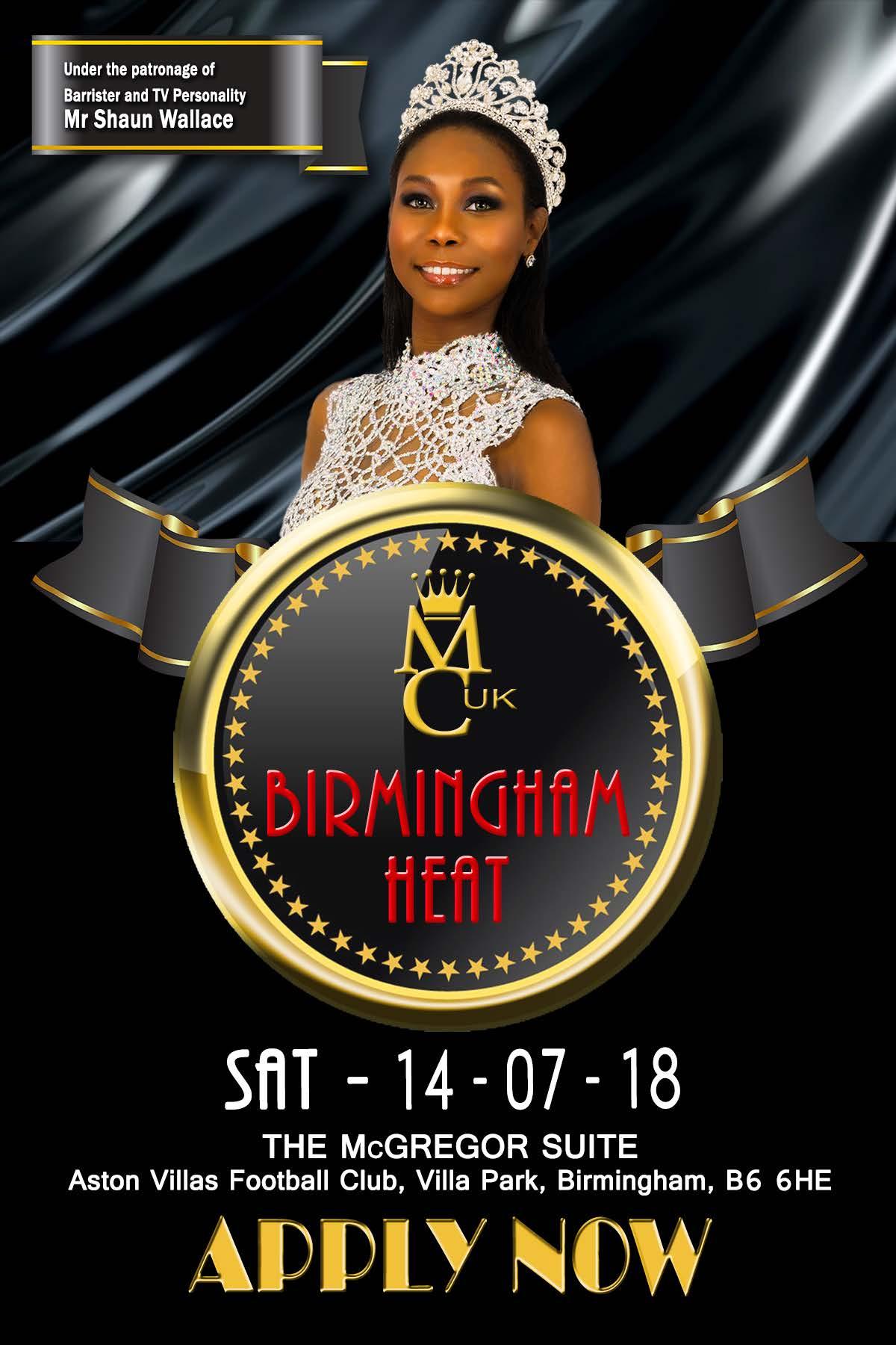 Miss Caribbean UK Birmingham Heat