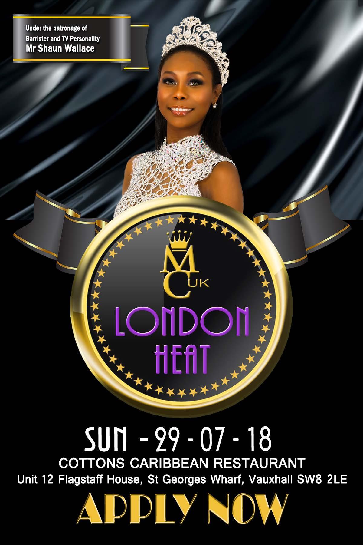 Miss Caribbean UK London Heat