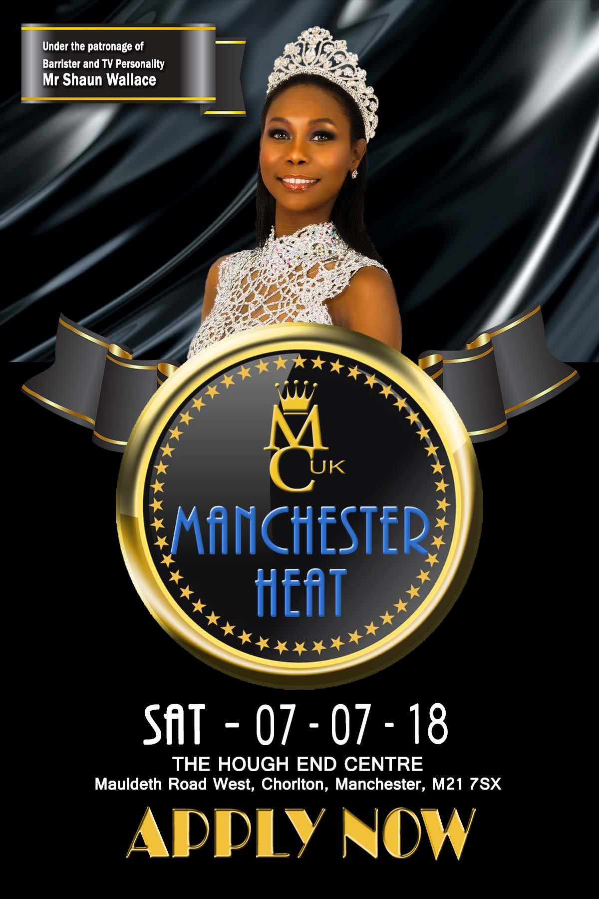 Miss Caribbean UK Manchester Heat