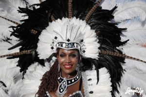 Beautiful Carnival Queen