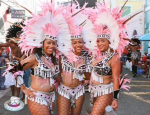 Carnival Dancing Girls