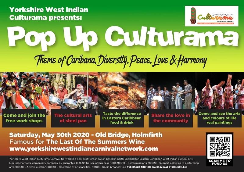 Caribana PopUp Culturama Flyer