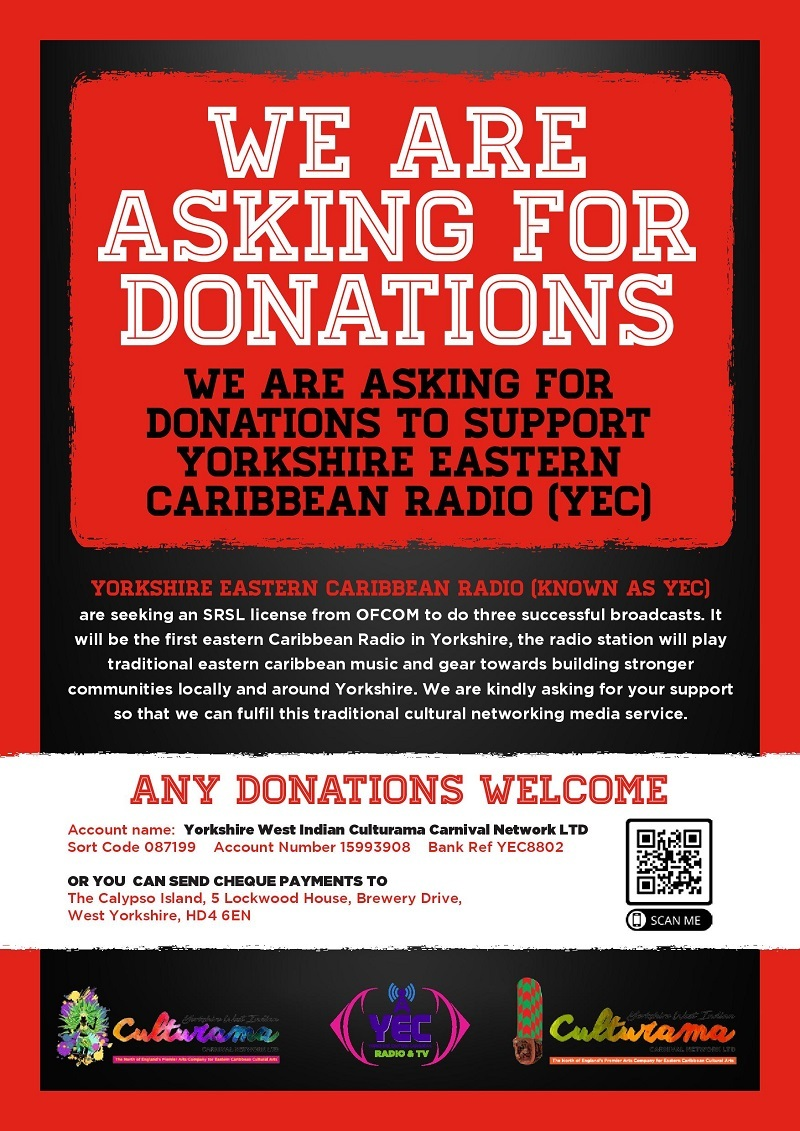 Donations Flyer