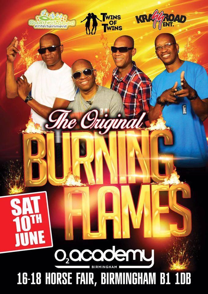 Original Burning Flames 2017