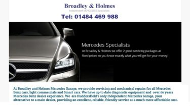 Broadley & Holmes Independent Mercedes Specialists Huddersfield