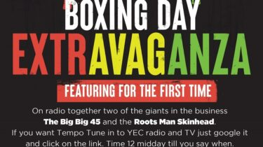 Boxing Day Extravaganza