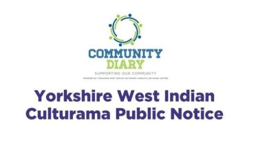 Community Diary Public COVID 19 Notice