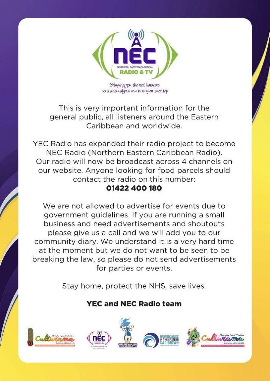 NEC Radio News Poster