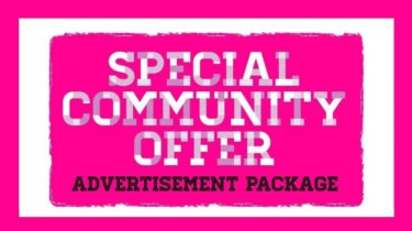 Community Advertising-Package Offer