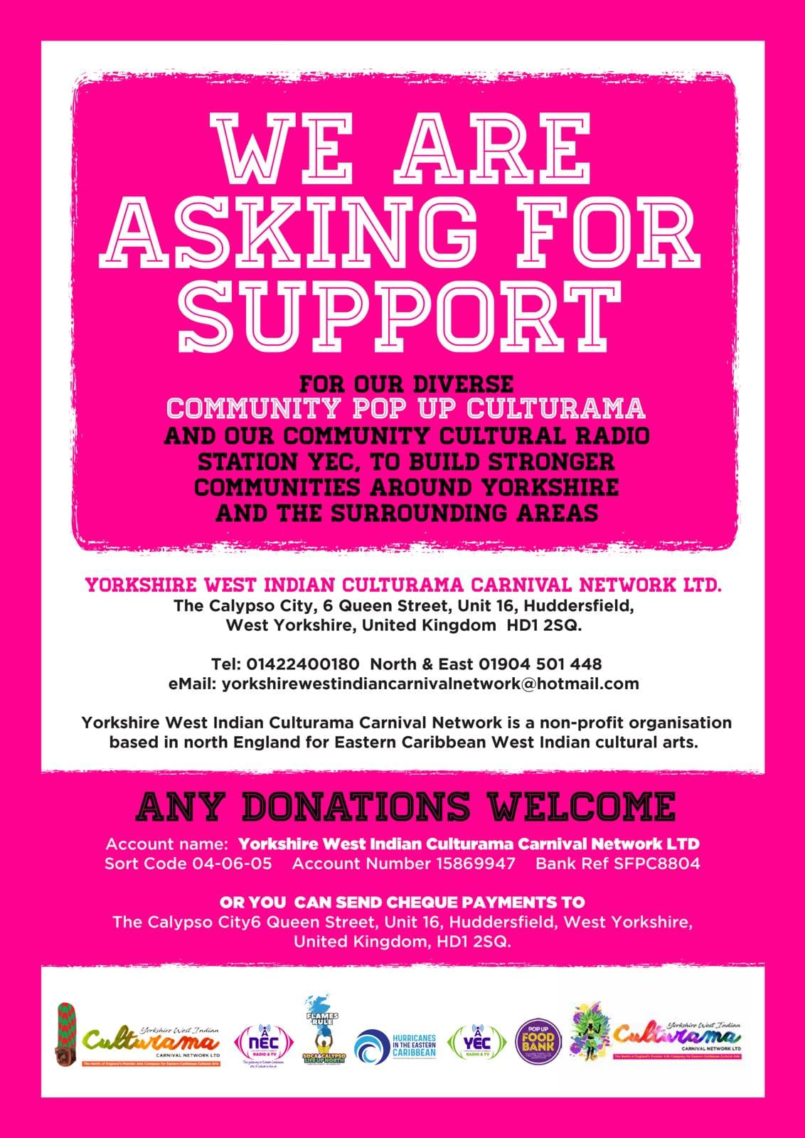 YWICCN Request Carnival Support
